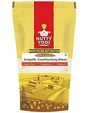 Organic Jave Godhi - Farro Long Wheat Atta / Khapli Wheat Flour   100% Vegan & Organic l High Fiber and Minerals l 500G x 2 SGD 18.99