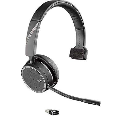 Amazon Com Plantronics Voyager 4210 Usb A 211317 01 Bluetooth Wireless Headset Black Electronics