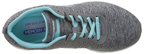Skechers Blue Light 2 Appeal Sneakers Grey Grau Damen 0 Flex AqnSwgAU