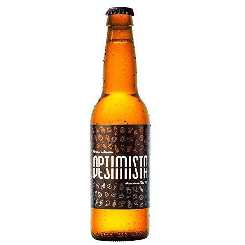 Cerveza artesanal La Lenta (12 botellas de 33 cl: 6 Optimista/Pesimista + 6 Golden Koeman): Amazon.es: Alimentación y bebidas