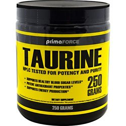 Prima Force Taurine Nutritional Supplement, 250 Gram