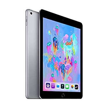 Apple iPad (Wi-Fi, 128GB) Space Gray (2018 Model)