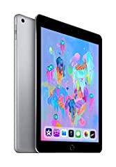 Create, learn, work, and play like never before. An immersive 9. 7-Inch multi-touch Retina Display. A10 FUSION chip with the power and capability you'd expect from a computer. Support for Apple pencil. 8MP camera. FaceTime HD Camera. Touch ID...