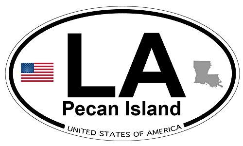 - Pecan Island, Louisiana Oval Magnet