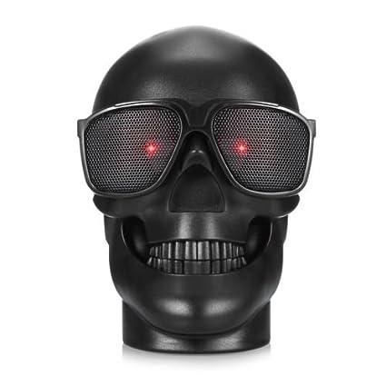 WJM Skull Wireless MP3 Speaker Ghost Amplifiers Protable Bluetooth Evil  Home Speakers Demon Belial Adult Toys Stereo Bass Sound Best Christmas  Saints