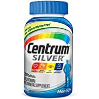 200-Count Centrum Silver Men 50+ Multivitamin Supplement Tablet