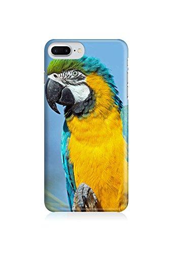 COVER Papagei Vogel Tier Design Handy Hülle Case 3D-Druck Top-Qualität kratzfest Apple iPhone 7 Plus