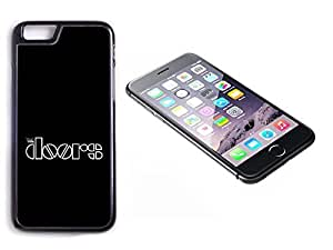 iPhone 6 Black Plastic Hard Case with High Gloss Printed Insert The Doors