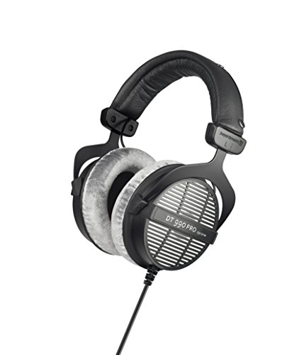 Beyerdynamic DT-990-Pro-250 Professional Acoustically Open Headphones 250 Ohms