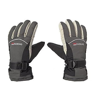 Ski Gloves Waterproof Windproof Unisex Women's Warm Snow Sport Outdoor Winter Men's Work Gloves