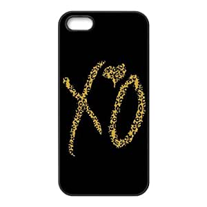 Danny Store 2015 New Arrival TPU Rubber Coated Phone Case Cover for iPhone 5 / 5S - The Weeknd XO by icecream design