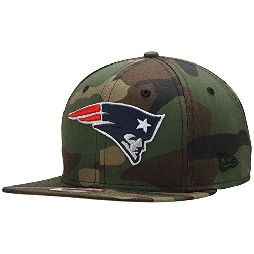 New Era 9Fifty NFL Cap New England Patriots State Clip Snapback Woodcamo Hat