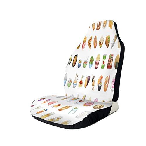 Car Seat Covers Food Best Automobile Seats Protector Fit Most Car,Truck,SUV,Van 2PCS