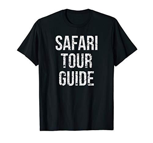 Safari Tour Guide Funny Easy Halloween Costume Joke T-Shirt