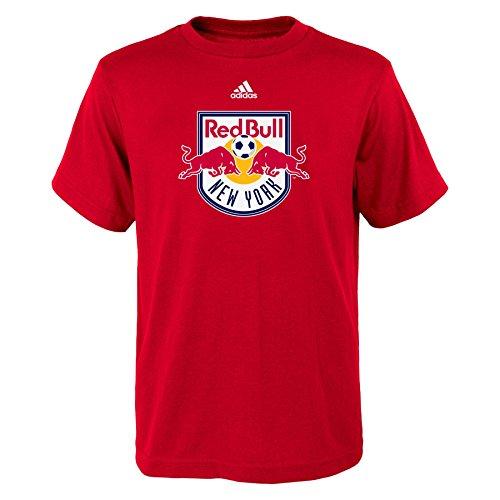ork Red Bulls Boys 8-20 Primary Logo Short Sleeve Tee, Red, Large ()