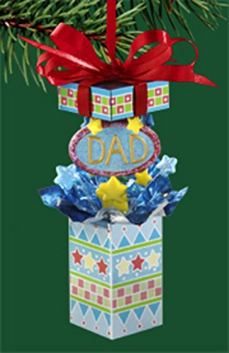"Carlton Heirloom Collection ""Dad Is a Gift"" Christmas Ornament #3740324"