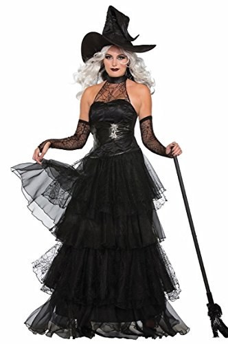 Forum 76784 Women's Ember Witch Costume, Medium/Large, Multicolor, Pack of -