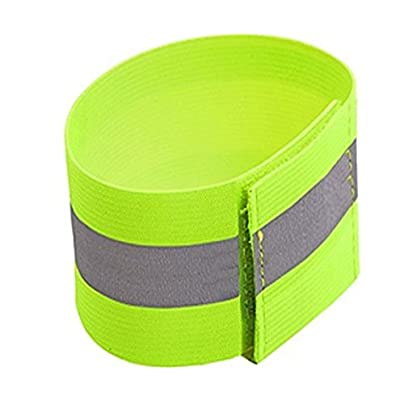 Juvale High Visibility Reflective Wristbands 2-Pieces Safety Reflective Armbands Leg Bands Reflective Straps for Running Jogging Cycling Estimated Price £5.49 -