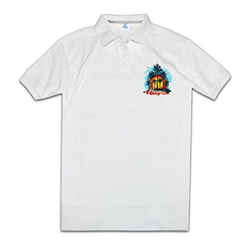 ZHONGJIAN Men's Polo Shirt Short Sleeve With Performance - Performance Island Kona