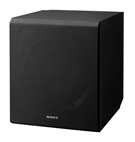 Sony SACS9 10-Inch Active Subwoofer, Black