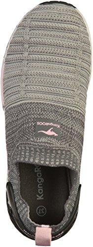 Erwachsene KangaROOS Unisex Rose W Grey Vapor Sneaker 600 Grau English BOxOwqA