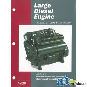 a i products large diesel engine service manual parts replacement rh amazon com