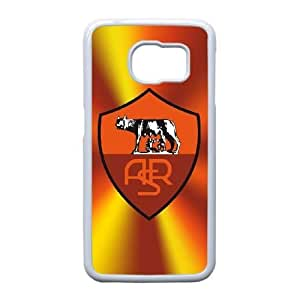 As Roma Logo For Samsung Galaxy S6 Edge Cell Phone Case White ADS085811