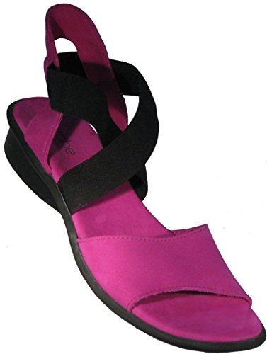 Arche Women's 'Satia' Sandal in 'Orchide' Nubuck (Arche Wedge)