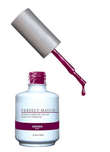 LECHAT Perfect Match Nail Polish, Sangria, 0.500 Ounce ()