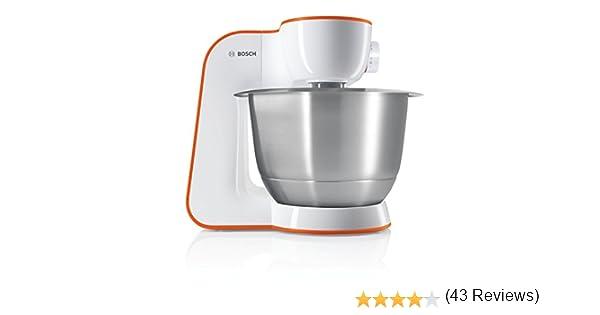 Bosch MUM54I00 - Batidora (Naranja, Acero inoxidable, Color blanco): Amazon.es: Hogar