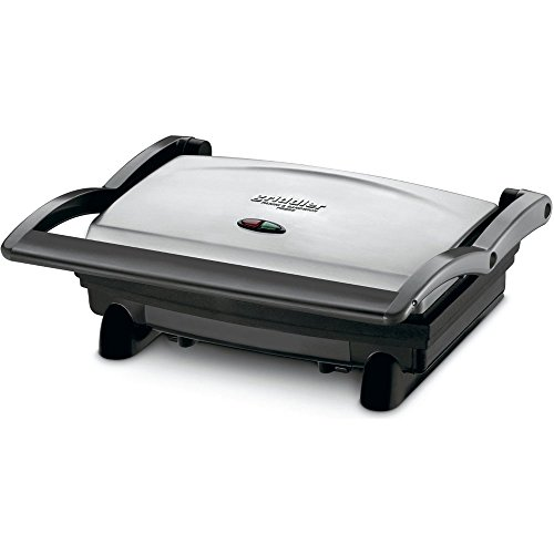 Cuisinart GR-1 Griddler Panini and Sandwich Press - (Certified Refurbished) (Cuisinart Grill And Panini Maker Gr 11)