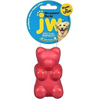 JW Pet Company Megalast Gummi Bear Dog Toy, Medium, Colors Vary