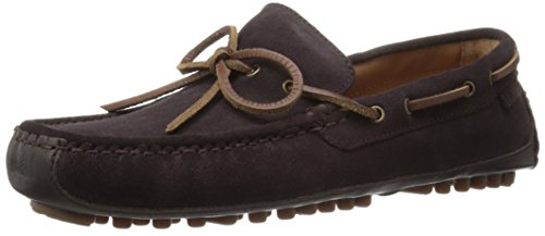 Cole Haan Men's Grant Canoe Camp Moccasin Slip-on Loafer, Java Suede, 10 M US