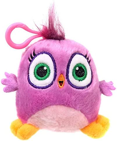 Amazon Com Rovio Angry Birds Hatchlings Hot Pink 4 Inch Plush Clip On Toys Games