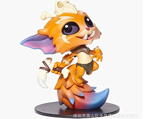 LOL League of Legends limited edition Gnar model figure 10CM No Box ()
