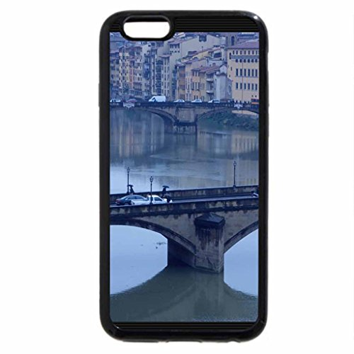 iPhone 6S / iPhone 6 Case (Black) Bridges - Florence, Italy