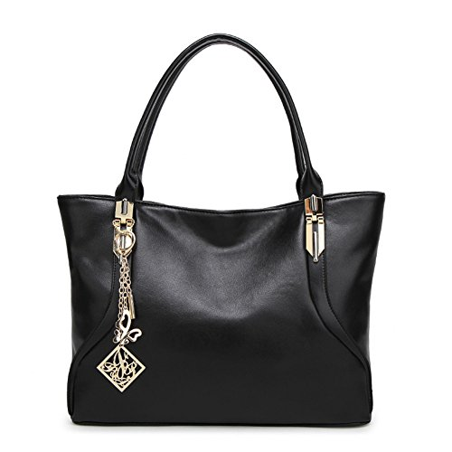 Shoulder Black Retro Hobos Bag Totes Handbags Satchels Womens FTSUCQ Casual EvABvwq
