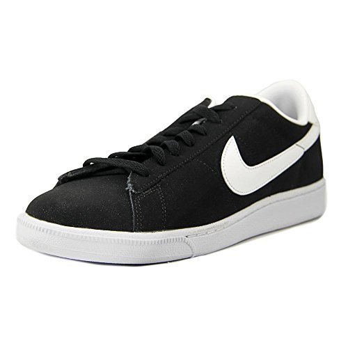 Nike Mesh Classic Tennis (NIKE Mens Tennis Classic Leather Fashion Sneaker (8.5 D(M) US, Black/White))