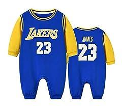 AIALTS Bebé Lakers Bulls Camiseta Jersey De Baloncesto, Baloncesto ...