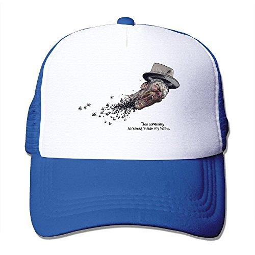Custom Unisex Snapback Something Screamed Inside Dancing Cap Hats RoyalBlue