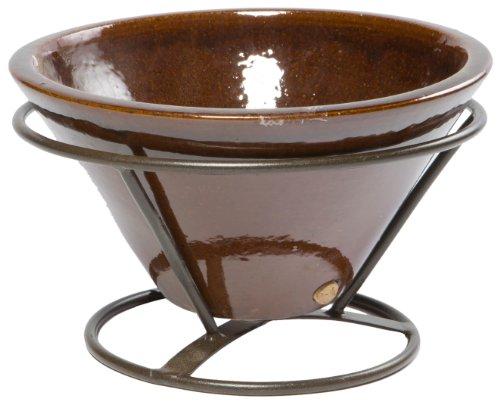 Alfresco Home Tabletop - Alfresco Home Table Top Beverage Cooler, Cognac