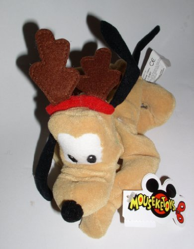 (Retired Disney Mickey Mouse Clubhouse Christmas Holiday Reindeer Pluto 8