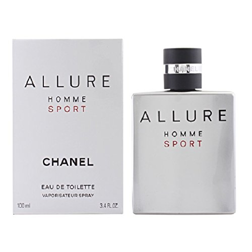 C H A N E L ALLURE HOMME SPORT EDT SPRAY 3.4 oz. / 100 ml. -