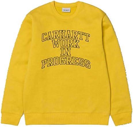 Carhartt Herren Sweatshirt WIP Division EBROIDERY Gelb