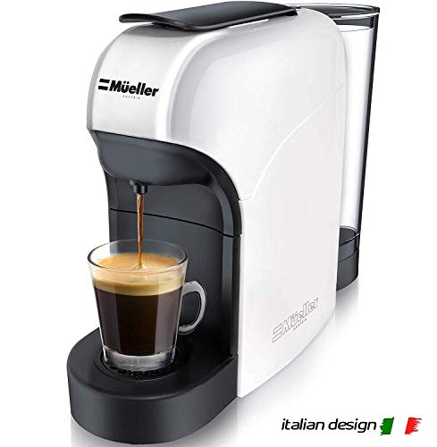 Mueller Espresso Machine for Nespresso Compatible Capsule, Premium Italian 20 Bar High Pressure...