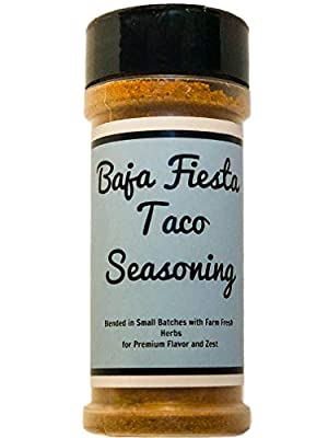 Baja Fiesta Taco Seasoning - Crafted in Small Batches with Farm Fresh Herbs for Premium Flavor and Zest
