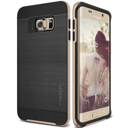 Galaxy S7 Edge Case, VRS Design [High Pro Shield][Shine Gold] - [Military Grade Protection][Slim Fit] For Samsung S7 Edge