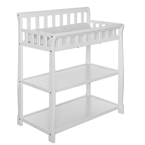 Dream On Me Ashton Changing Table, White