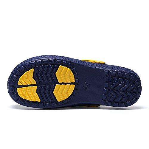 Mules Garden Men's for Outdoor Women's Beach Summer Slippers Gaatpot Clogs Casual Blue Shoes 8zxvq8d