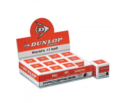 CreativeMinds UK Dunlop Pro Racquet Sport Advanced Players Double Dot Wsf Psa Wispa Squash Ball